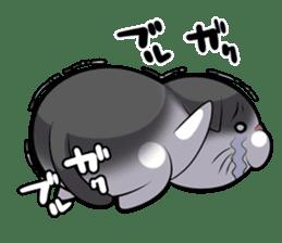 catple2(black cat) sticker #15712231