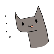 สติ๊กเกอร์ไลน์ ennui and surrealism cat