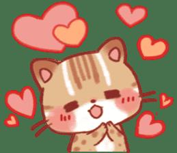 Cute Leopard Cat sticker #15717434