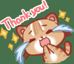 Cute Leopard Cat sticker #15717441