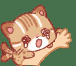 Cute Leopard Cat sticker #15717463