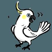 สติ๊กเกอร์ไลน์ Cockatoo's way of life