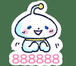 Alien of the next room sticker #15724105