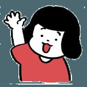 สติ๊กเกอร์ไลน์ HARUKOU-Sticker