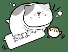Very fat cat sticker #15724434