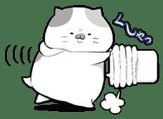 Very fat cat sticker #15724457