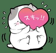 Very fat cat sticker #15724463