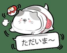 Very fat cat sticker #15724466