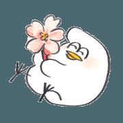 สติ๊กเกอร์ไลน์ torimochi sticker ~spring~
