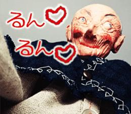 Puppet Papa's Magical girl Mei sticker #15725303