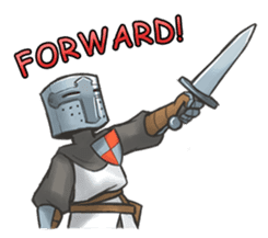 Full-helm Bravo: Castle Age sticker #15726621