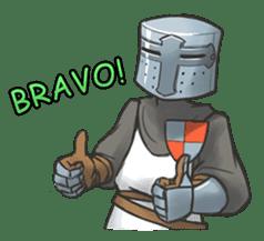 Full-helm Bravo: Castle Age sticker #15726622