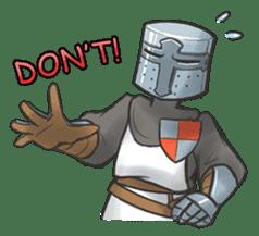 Full-helm Bravo: Castle Age sticker #15726623