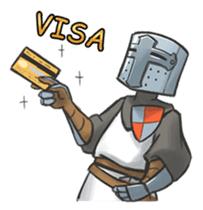 Full-helm Bravo: Castle Age sticker #15726629