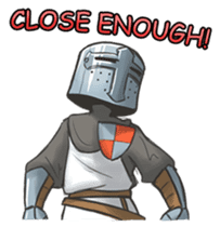 Full-helm Bravo: Castle Age sticker #15726637