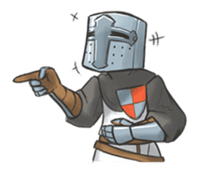 Full-helm Bravo: Castle Age sticker #15726640