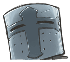 Full-helm Bravo: Castle Age sticker #15726648