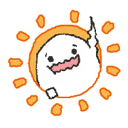 สติ๊กเกอร์ไลน์ Shirotama-kun Stamp 1