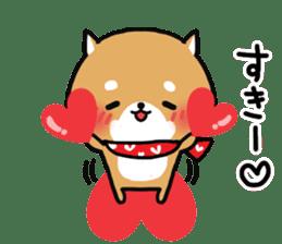 The lovely Japanese Shiba inu sticker #15728363