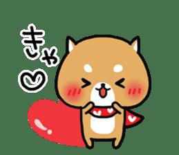 The lovely Japanese Shiba inu sticker #15728365