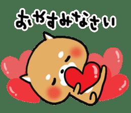 The lovely Japanese Shiba inu sticker #15728366