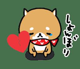 The lovely Japanese Shiba inu sticker #15728367