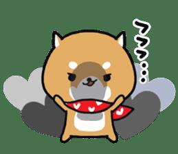 The lovely Japanese Shiba inu sticker #15728368
