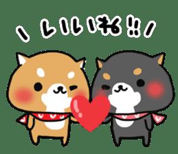 The lovely Japanese Shiba inu sticker #15728370