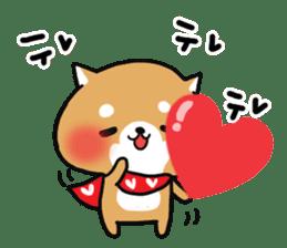 The lovely Japanese Shiba inu sticker #15728371