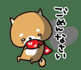 The lovely Japanese Shiba inu sticker #15728372