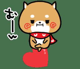 The lovely Japanese Shiba inu sticker #15728373