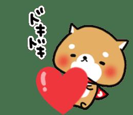 The lovely Japanese Shiba inu sticker #15728375