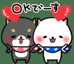 The lovely Japanese Shiba inu sticker #15728376