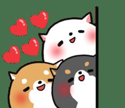The lovely Japanese Shiba inu sticker #15728380