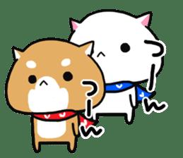 The lovely Japanese Shiba inu sticker #15728385