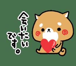 The lovely Japanese Shiba inu sticker #15728387