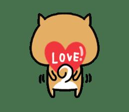 The lovely Japanese Shiba inu sticker #15728388