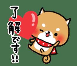 The lovely Japanese Shiba inu sticker #15728390