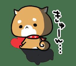 The lovely Japanese Shiba inu sticker #15728391