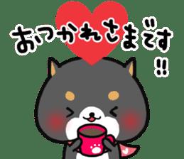 The lovely Japanese Shiba inu sticker #15728392