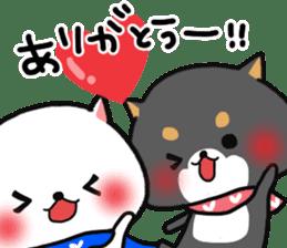 The lovely Japanese Shiba inu sticker #15728394