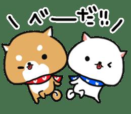 The lovely Japanese Shiba inu sticker #15728395