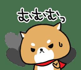 The lovely Japanese Shiba inu sticker #15728398
