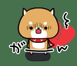The lovely Japanese Shiba inu sticker #15728399