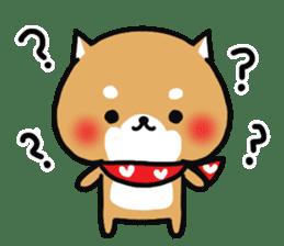 The lovely Japanese Shiba inu sticker #15728401