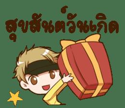 Hideki : Happy Birthday 2017 sticker #15728604