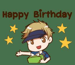 Hideki : Happy Birthday 2017 sticker #15728606