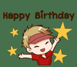 Hideki : Happy Birthday 2017 sticker #15728607