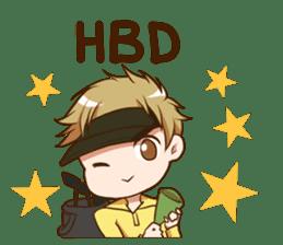 Hideki : Happy Birthday 2017 sticker #15728608