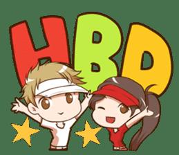 Hideki : Happy Birthday 2017 sticker #15728609